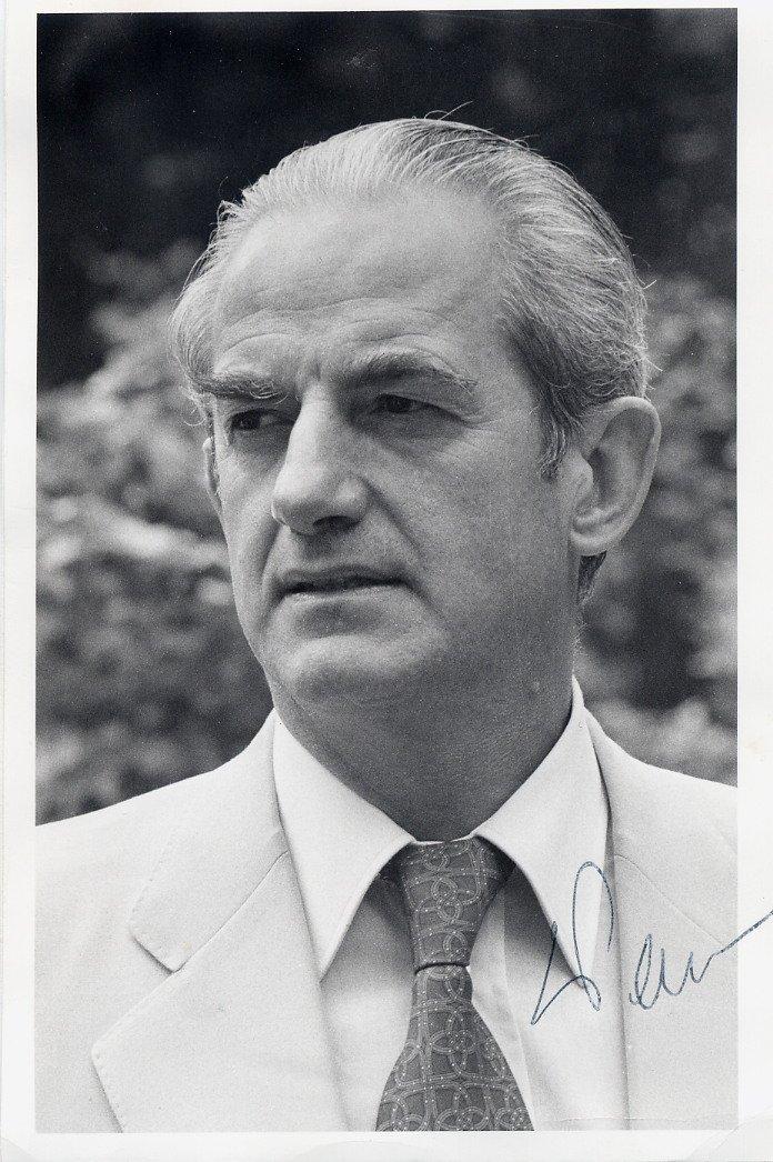 France - Scholar & Politician Minister of Justice ALAIN PEYREFITTE SP 1970s