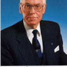 1992-2001 President of Estonia LENNART MERI Hand Signed Photo 4x6