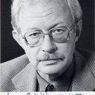 Noted German Writer MANFRED BIELER Hand Signed Photo Card 1984