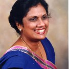 5th President of Sri Lanka CHANDRIKA KUMARATUNGA Hand Signed Photo
