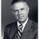 New York Senator & Court Judge JAMES L BUCKLEY Signed Photo 8x10 from 1970s
