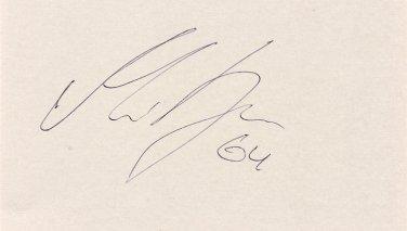 2014 Ice Hockey Olympic Bronze & Minnesota Wild MIKAEL GRANLUND Hand Signed Card