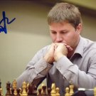 Russian Chess Grandmaster ALEXANDER MOTYLEV Hand Signed Photo 4x6 #2
