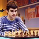 Russian Chess Grandmaster MAXIM MATLAKOV Hand Signed Photo 4x6 #2