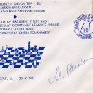 Yugoslavia - Chess Grandmaster MILORAD KNEZEVIC Autographed Cover 1977