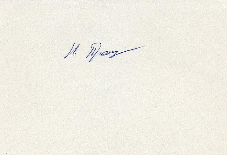 1968 Canoeing Bronze & 1971 World Champion NAUM PROKUPETS Autograph 1980s