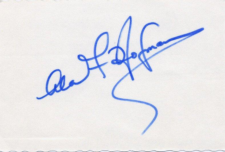 Famous Gastroenterologist ALAN F HOFMANN Autographed Card 1970s