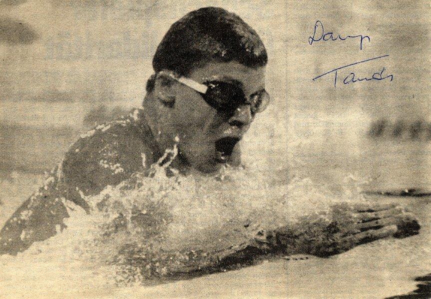 1988-92 Four-Time Swimming Champion & WR TAMAS DARNYI Autograph 1988