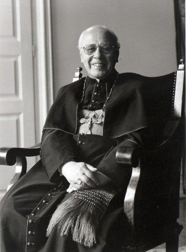 Austria - Archbishop of Salzburg KARL BERG Hand Signed Photo 1985