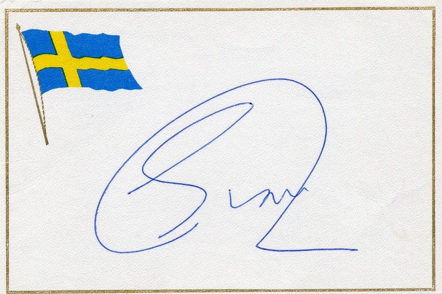 Netherlands -  Politician 1983-94 Mayor of Amsterdam ED van THIJN Autographed Card 1985