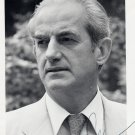 France - Scholar & Politician Minister of Justice ALAIN PEYREFITTE Hand Signed Photo 1970s