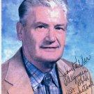 Kansas Jayhawks 1952 Olympic Champion JOHN KELLER Autographed Picture 1990s