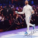 2016 Rio Olympics Fencing Gold DANIEL JERENT Hand Signed Photo 4x6