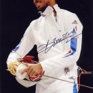 2016 Rio Olympics Fencing Gold YANNICK BOREL Hand Signed Photo 4x6