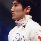 2016 Rio Olympics Fencing Gold PARK SANG-YOUNG Hand Signed Photo 4x6