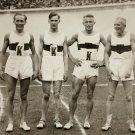 (R) 1928 Amsterdam Athletics 4x400m Silver RICHARD KREBS  Autograph 1980s