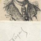 Stalin's Favorite The Young Guard Author ALEXANDER FADEYEV Autograph 1935 RARE!