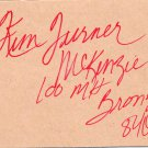 (R) 1984 Athletics 100m Hurdles Bronze KIM TURNER Autographed Card 1980s