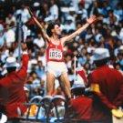 (T) 1988 Seoul T&F High Jump Bronze & WR RUDOLF POVARNITSYN Orig Autograph 1980s & P