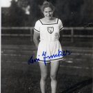 (T) 1928 Amsterdam T&F 4x100m Relay Bronze & WR LENI JUNKER Hand Signed Photo 4x6