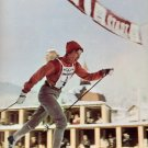 (T) 1964 Cross Country Skiing Gold KLAVDIYA BOYARSKIKH  Autograph 1990 & Pict