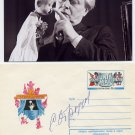Famous Russian Puppeteer SERGEY OBRAZTSOV Rare Hand Signed Cover from 1979 & Pic