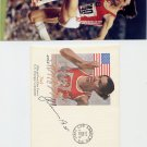 1980 Athletics Triple Jump Gold JAAK UUDMAE Hand Signed Fleetwood FDC & Pic