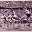 (T) 1936 Berlin Olympics T&F 80m Hurdles Silver ANNI STEUER Hand Signed Photo