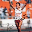 (T) 1988 Seoul Athletics Marathon Gold ROSA MOTA Hand Signed Photo Card 1980s