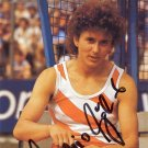 (T) 1976-80 Olympics T&F 4x100m Gold & WR MARLIES GÖHR Hand Signed Photo 4x6 '80s