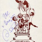 Russian Composer ANDREY PETROV Hand Signed Recital Concert Program from 1990