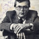 Russian Composer ANDREY PETROV Hand Signed Magazine Picture from 1990