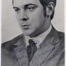 Famous Operatic Baritone MUSLIM MAGOMAYEV Hand Signed Photo 1970s RARE!