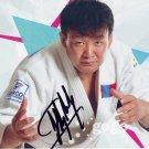 Judo - 1st Mongolian Olympic Champion NAIDANGIIN TUVSHINBAYAR Signed Photo 4x6