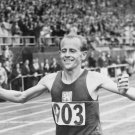 (T) 1948-52 Olympic Legend EMIL ZATOPEK In-Person Autograph from 1992 & Pict