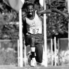 (T) 1968-72 Athletics Triple Jump Medalist & WR NELSON PRUDENCIO Autograph 1990 & P
