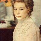 Soviet Russian Actress INNA MAKAROVA Hand Signed Vintage Magazine Picture 7x9