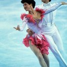 (R) 1984-88-92 Figure Skating Ice Dance Stars KLIMOVA / PONOMARENKO Orig Autographs 1980s & Pict