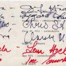 Sweden - Georges Bizet Carmen Orig Autographs from 1982 (6)