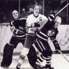Hockey NHL Crusaders Rockies Penguins TOM EDUR Hand Signed Photo 4x6