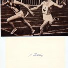 1952- 56 Athletics 4x100m Relay Silver BORIS TOKAREV Orig Autograph 1989