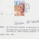 1983 Nobel Prize in Medicine BARBARA McCLINTOCK Orig Autograph from 1983!RARE