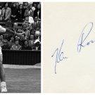 Tennis - KEN ROSEWALL - Original Hand Signed Autograph