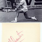 Tennis 1975 US Open Champion - MANUEL ORANTES - Original Autograph from 1970