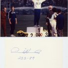 1964 Tokyo Olympics T&F Javelin Gold PAULI NEVALA Orig Autograph 1989