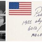 1956 Melbourne Olympics Boxing Gold PETE RADEMACHER Orig Autograph 1990s