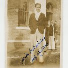 1930 1st British Empire Games '32 T&F Olympian WILLIE WALTERS Signed Photo 1933