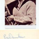 1956 Olympics T&F Javelin Gold & WR EGIL DANIELSEN Orig Autograph 1980s