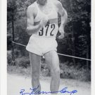 1972 Olympics T&F 50km Walk Gold & WR BERND KANNENBERG Hand Signed Photo 4x6