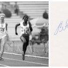 1976-80 Olympics T&F 4x100m Medalist VERA ANISIMOVA Orig Autograph 1980s
